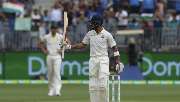Ind Vs Aus 2nd Test Day 2 Kohli Leads India S Fightback In Perth