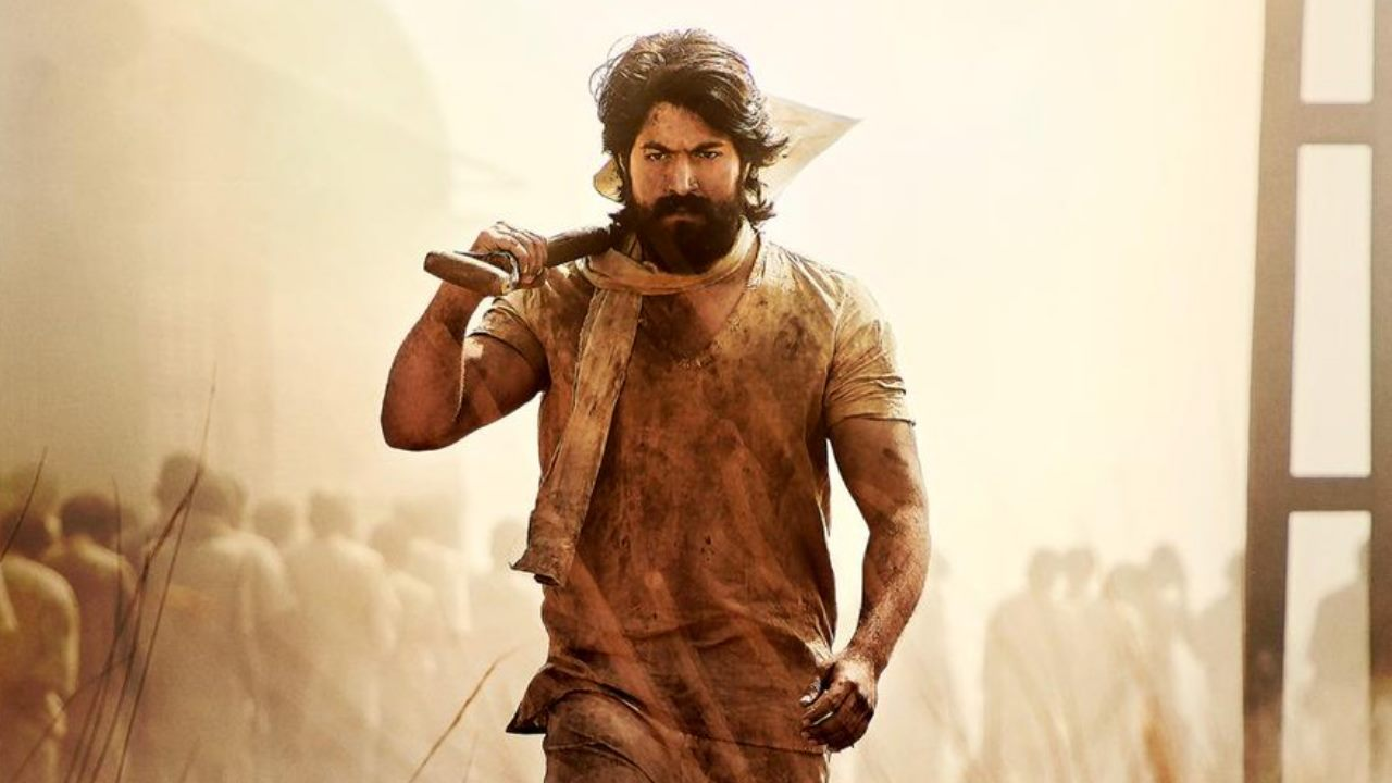 Touted as the biggest Kannada film, KGF featuring Yash is one of the most anticipated movies of the year. The film will be dubbed in four languages. Image: @KGFTheFilm