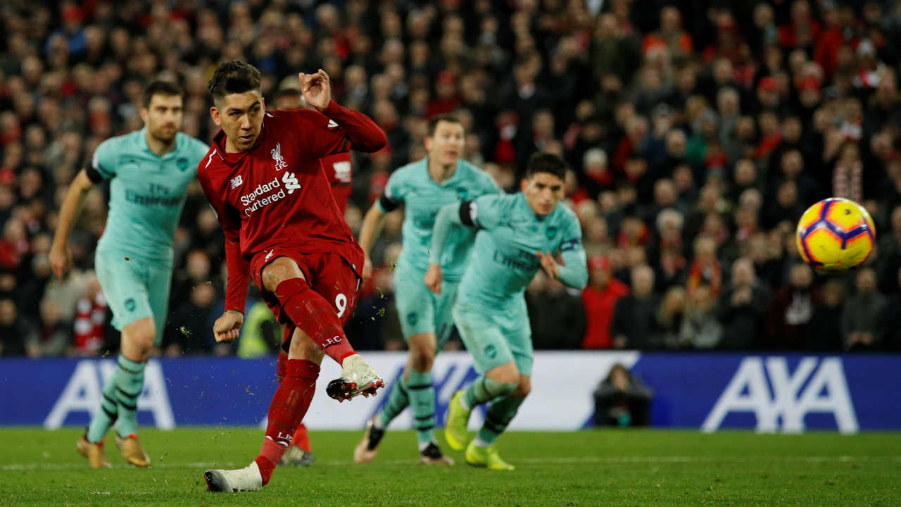 EPL GW 20 roundup: Liverpool rout Arsenal 5-1 to go 7 points clear at top of points table