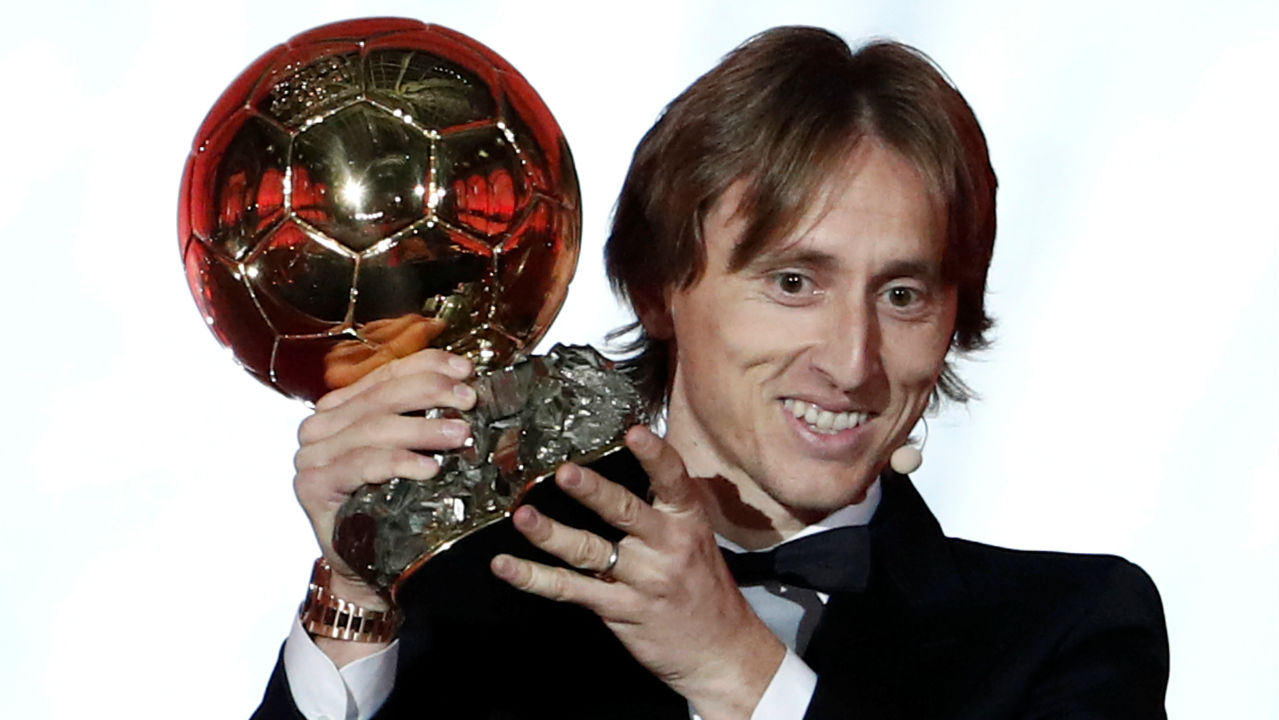 Modric: Ballon d'Or win 'a unique feeling'