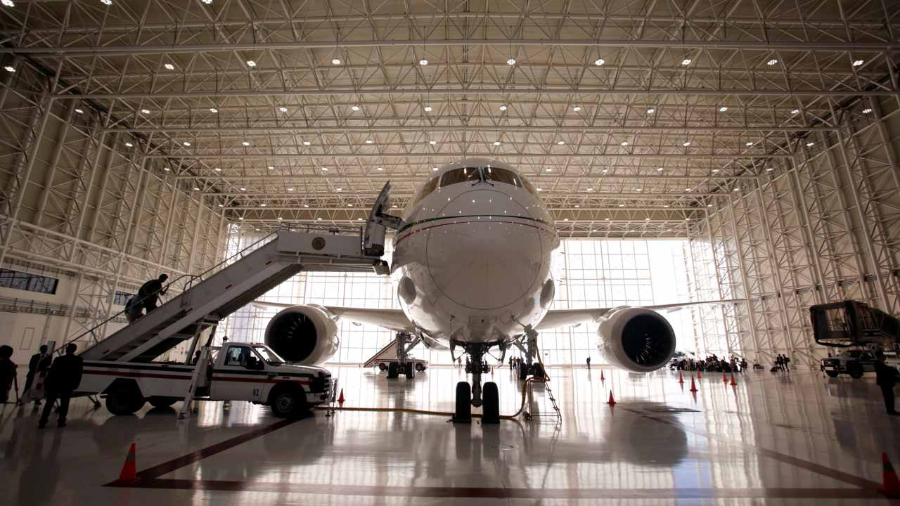 This $218 million presidential jet is up for sale; take a look inside