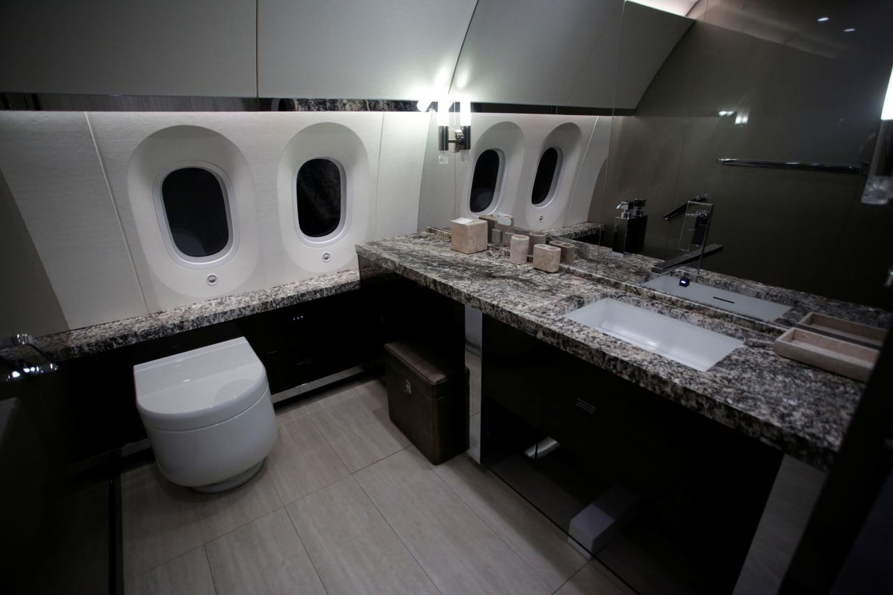 The bathroom is fitted with modern amenities and countertops are made of stone. (Image: Reuters)