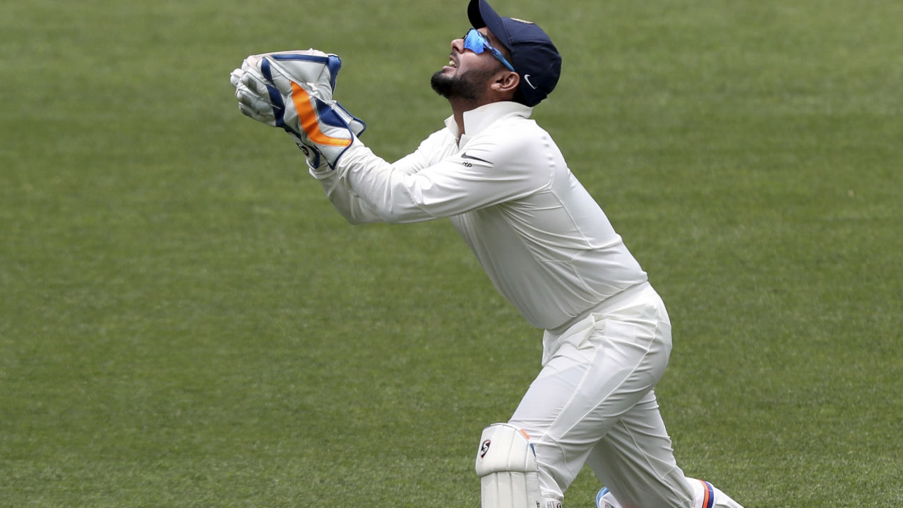 1st Indian keeper to take 20 catches in a Test series | Pant achieved this feat on the fifth day of the third Test against Australia in Melbourne. He took a record-breaking 11 catches in the first Test, six in the second and three in the third to set a new record. He eclipsed both Syed Kirmani and MS Dhoni who are joint second on the list with 17 catches in a series. (Image: AP)