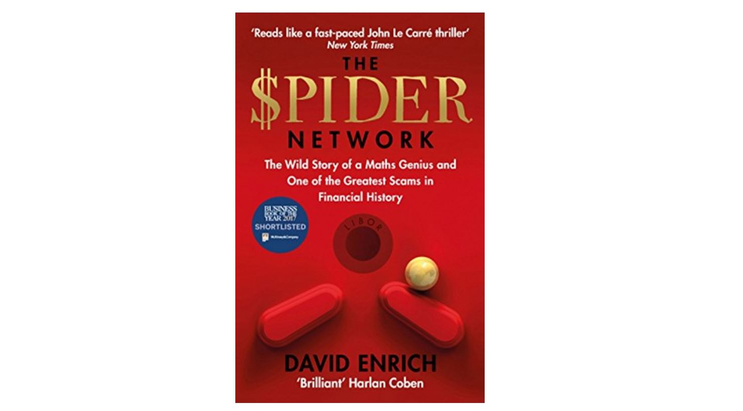 The Spider Network by David Enrich | Of the dozen-odd books I read during the year, The Spider Network by David Enrich was the most enjoyable. What I liked about the book is that it is well researched, has lots of people in it, and does a very good job of detailing the scam and its implications in an easy to understand manner. For me, Den of Thieves is the gold standard for books on the 80s insider trading scandal in the US stock market. The Spider Network easily ranks alongside it in chronicling one of the biggest bond market frauds in living memory. Till I read the book, I felt the Libor scam was the handiwork of a few rogue traders across the banks. I was stunned to learn from the book that the fixing of Libor rates was not just an open secret, but it was also institutionalised. – Santosh Nair (Image: Amazon)