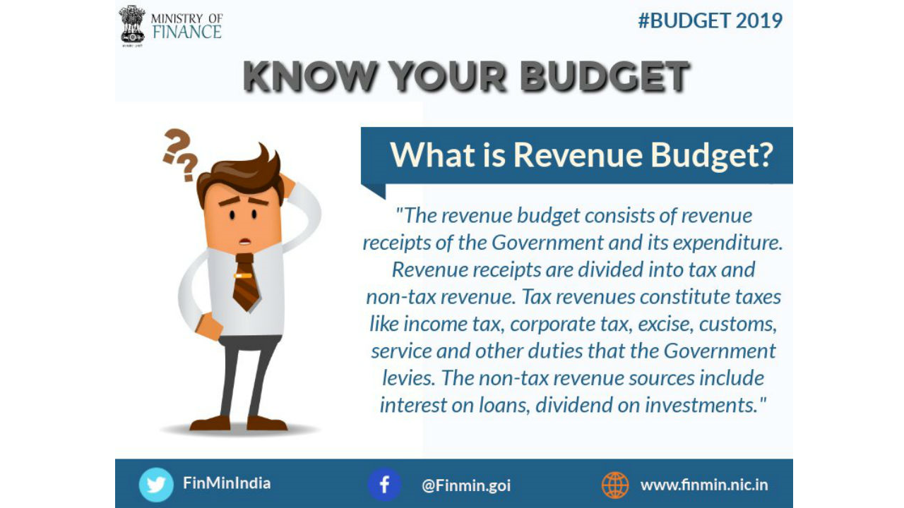 What is Revenue Budget? (Image: Twitter/@FinMinIndia)