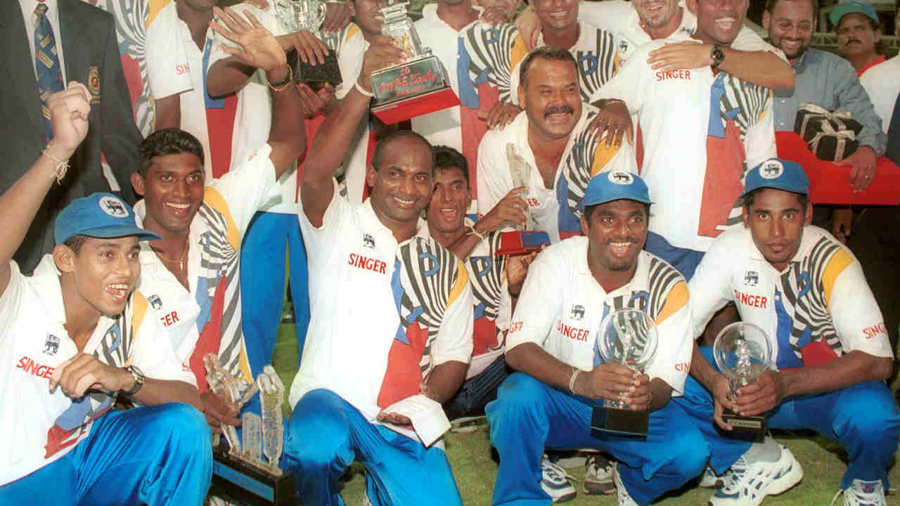 54 all out vs Sri Lanka, Sharjah, 29-Oct-00 | In the Coca-Cola Champions Trophy at Sharjah chasing a total of 300 India were bowled out on 54. The wrecker in chief for Sri Lanka were Chaminda Vaas and Muttiah Muralitharan. India lost the match by an embarrassing margin of 245 run. (Image: Reuters)