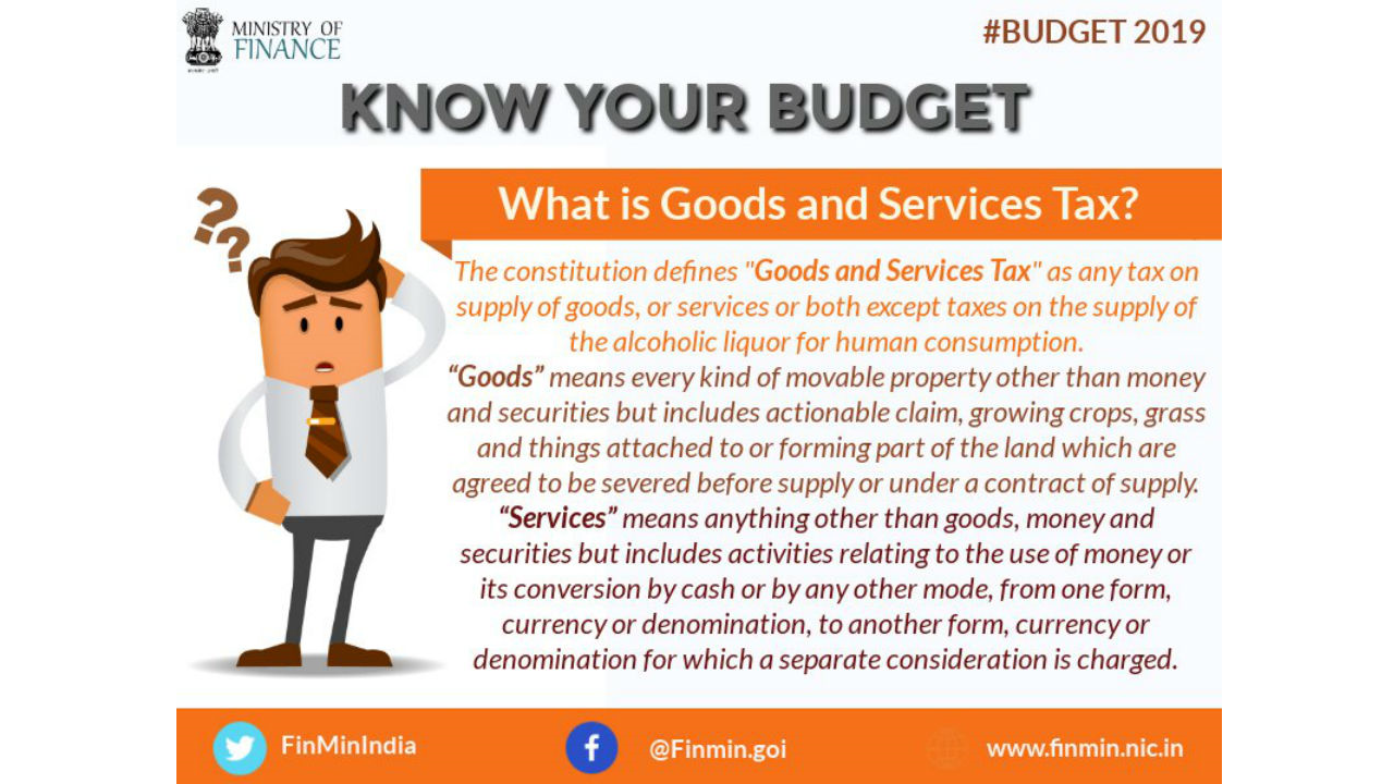 What is the Goods and Services Tax (GST)? (Image: Twitter/@FinMinIndia)