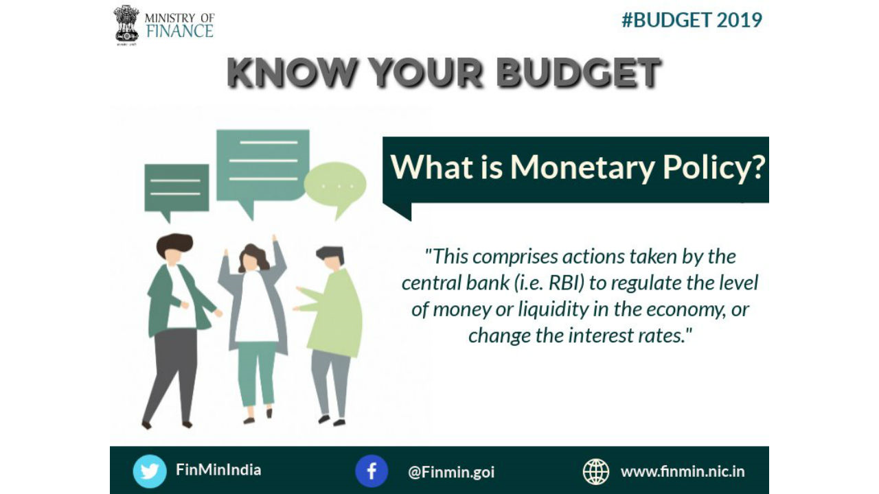 What is Monetary Policy? (Image: Twitter/@FinMinIndia)