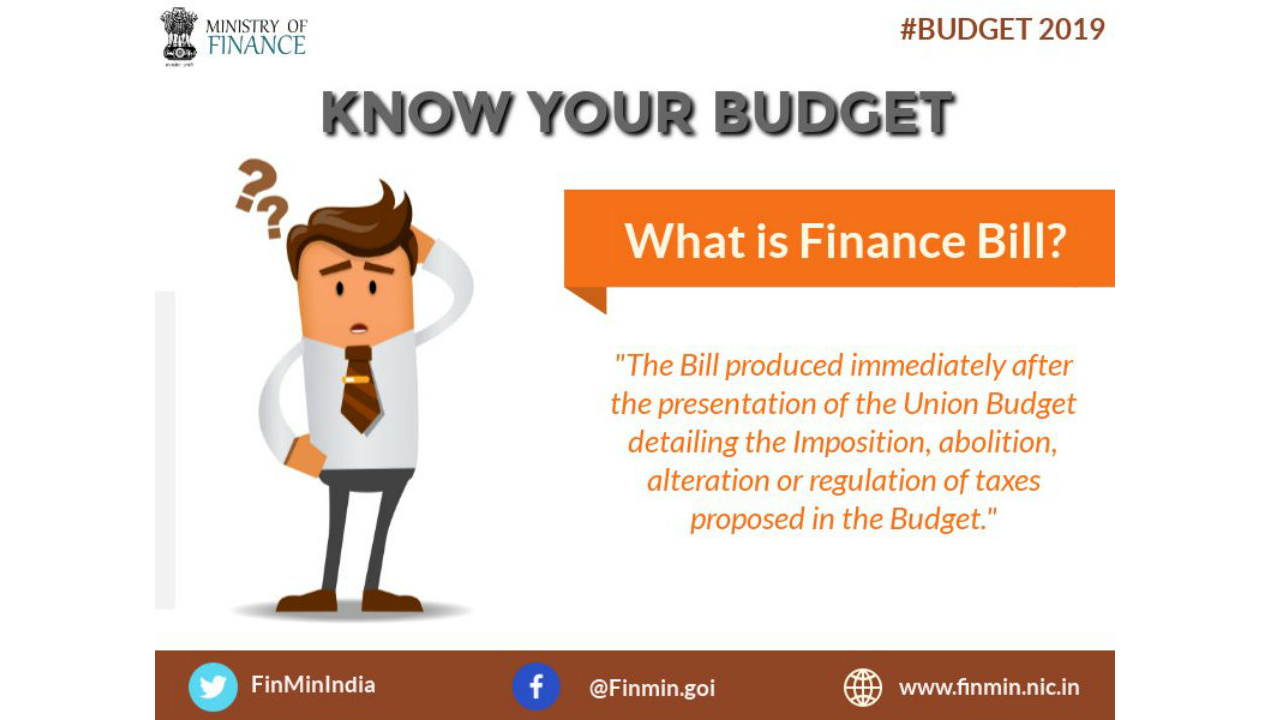 What is Finance Bill? (Image: Twitter/@FinMinIndia)