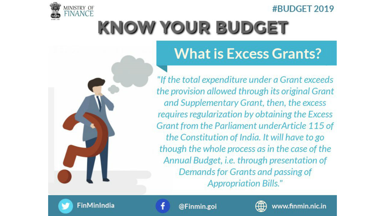 What is Excess Grant? (Image: Twitter/@FinMinIndia)