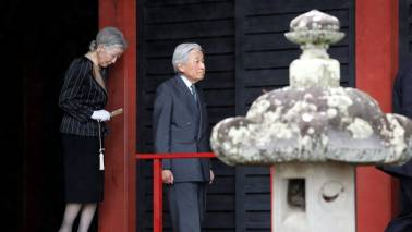 Japan Emperor gives last New Year's address before impending abdication