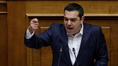 Greek PM Alexis Tsipras wins confidence vote after Macedonia name row