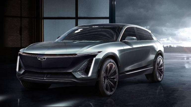Gm Shows Off Images Of Tesla Rivalling All Electric Suv From