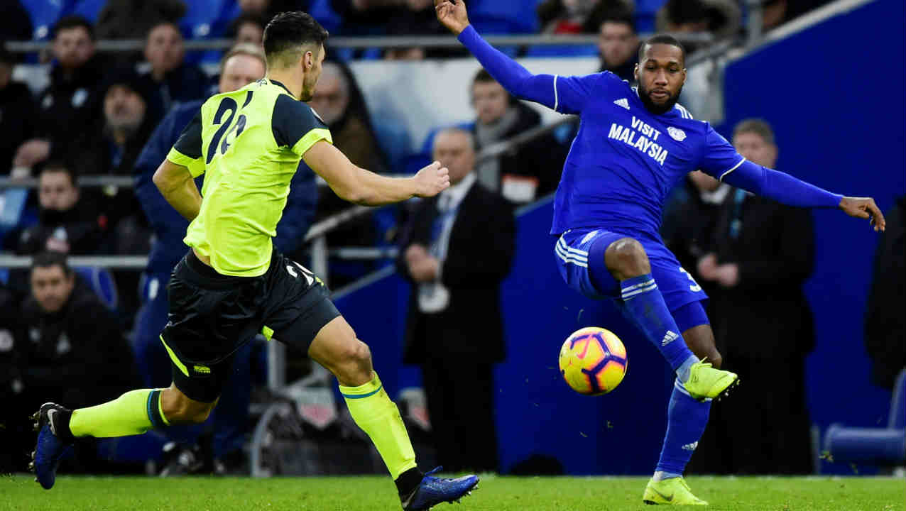 Cardiff City 0 - 0 Huddersfield Town |Cardiff City and Huddersfield Town were engaged in a goalless draw at the Cardiff City stadium. Neither side came close to scoring a goal and the match ended a draw. The result helped Huddersfield Town break its eight-match losing streak and Cardiff with 19 points remained a spot above the relegation zone. (Image: Reuters)