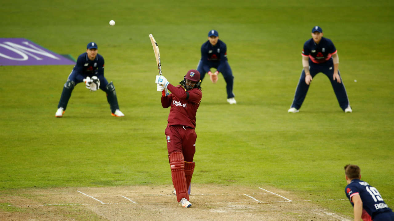 Chris Gayle (West Indies) | Gayle has made his name in international cricket for his ability to hit the maximum at free will. Among his many strengths, perhaps the biggest one is his outstanding hand-eye coordination, which allows him to regularly hit even good-length deliveries for boundaries and sixes.  (Image: Reuters) Matches: 284, Innings: 279, 6s: 275