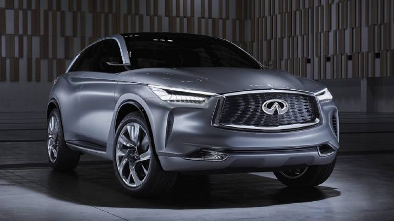 What Does Future Look Like See Infiniti S Electric Suv Qx Inspiration Concept To Get An Idea