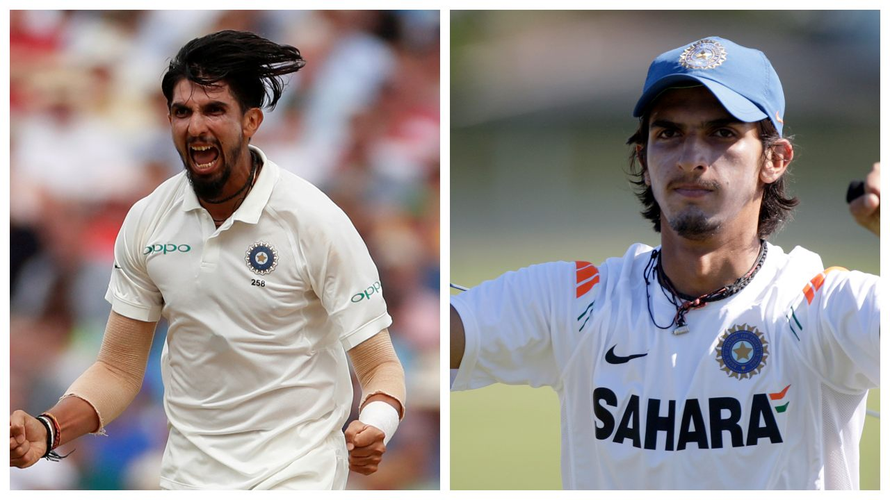 The tall lanky pacer Ishant Sharma, who was once identified on the field with his long flowy hair, now also sports an extended goatee. (Image: Reuters)
