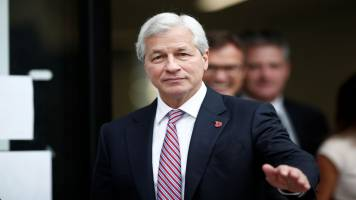 Government shutdown 'damaging' US economy: Jamie Dimon