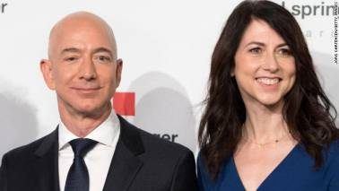 The big Bezos divorce: Mackenzie could be the world's richest woman after split with Amazon's boss