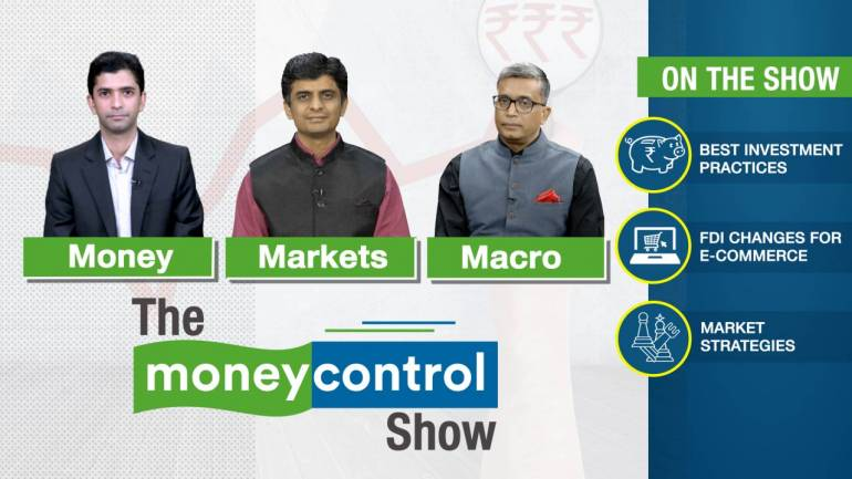 Image result for The Moneycontrol Show | Best investment practices; FDI changes for e-commerce; Market outlook