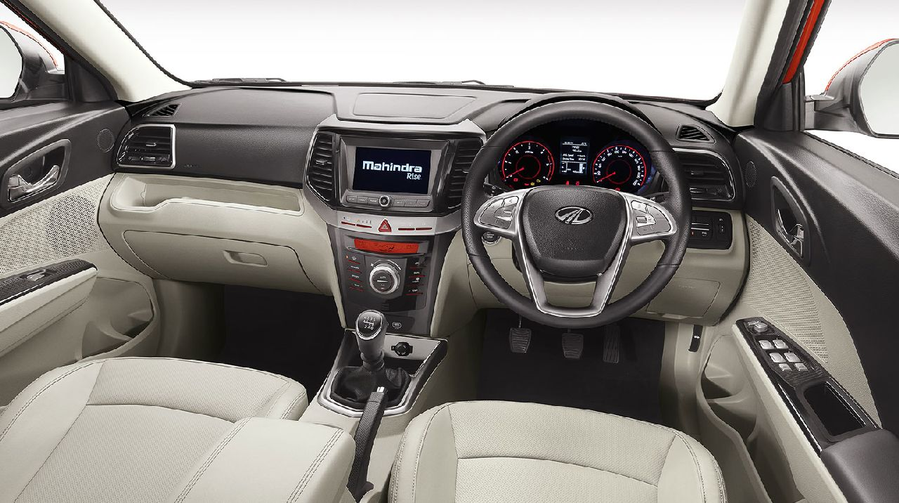 The car boasts of a plethora of features, including a 7-inch touchscreen infotainment system with Apple CarPlay and Android Auto connectivity, cooled armrest box, cruise control, engine stop-start button, rear-view camera, steering mounted audio controls and much more. (Image: Swaraj Baggonkar)