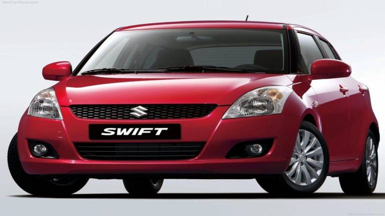The Swift secured an obvious third place, closing the top three spots for Maruti Suzuki.