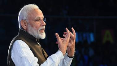 PM Modi sees India as $10-trillion economy with countless startups