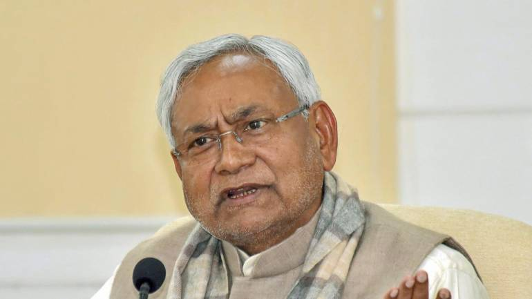 Nitish Kumar flags off 'publicity rath' to create awareness on water resources - Moneycontrol.com
