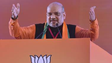 Amit Shah suffering from swine flu, admitted to AIIMS