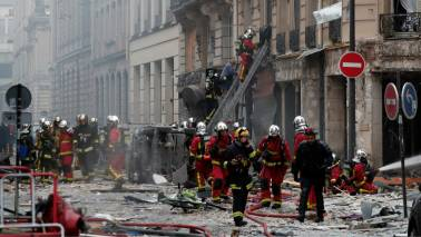 Multiple injuries after explosion in Paris bakery believed linked to gas leak