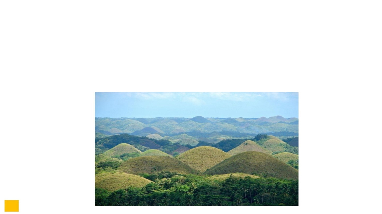 Q4. These are a geological formation in the Bohol province of the Philippines. Their name comes from what they look like in the dry season. What are they called and why?