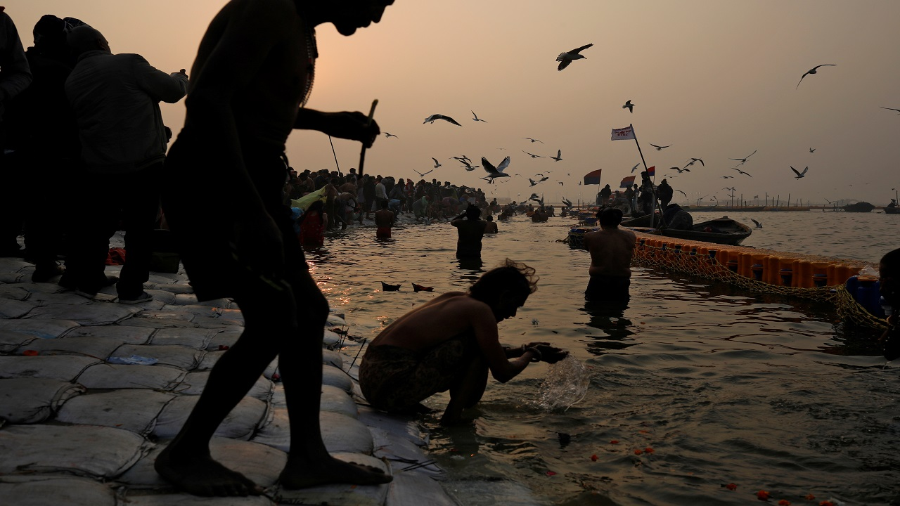 Those who throng Kumbh Mela believe that a dip in the holy water washes off their sins, and blesses them with powers of the Gods. (Image: Reuters)