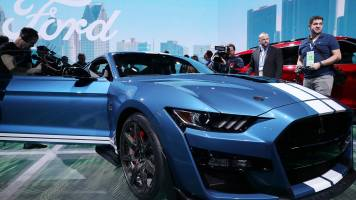 Ford unveils 2020 Mustang Shelby GT500 - its most powerful car ever