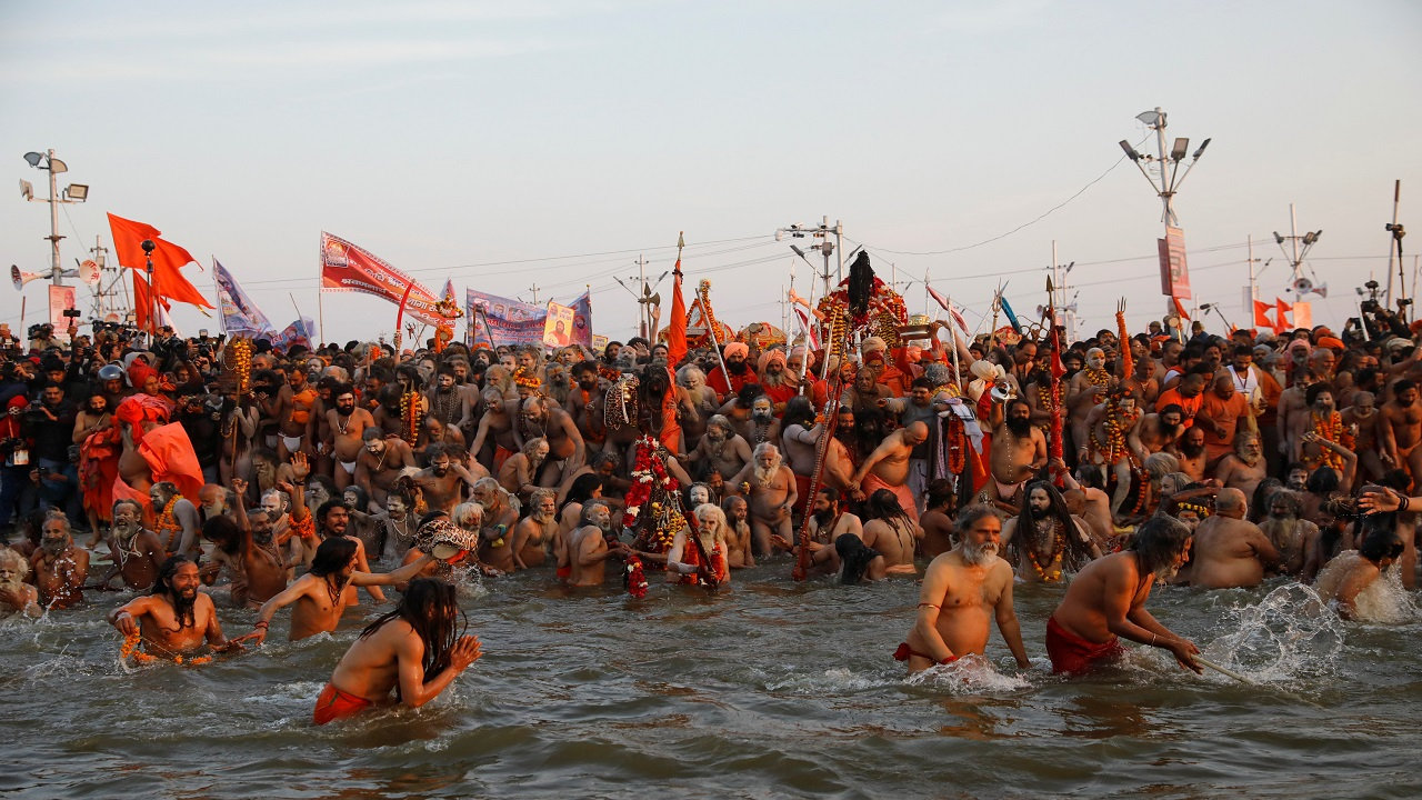 The dates for Kumbh Mela are decided after calculating the zodiac positions of the Sun, Moon and the earth. (Image: Reuters)