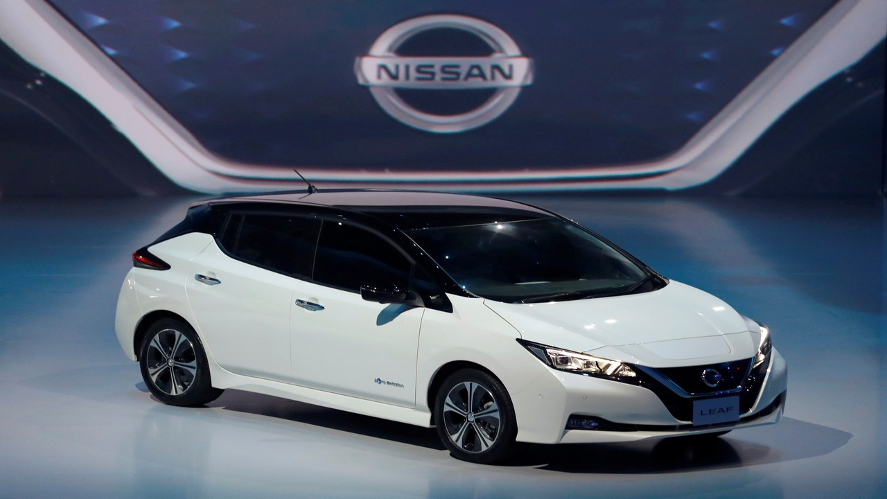 in pics: nissan's all-electric car leaf; due for launch in india