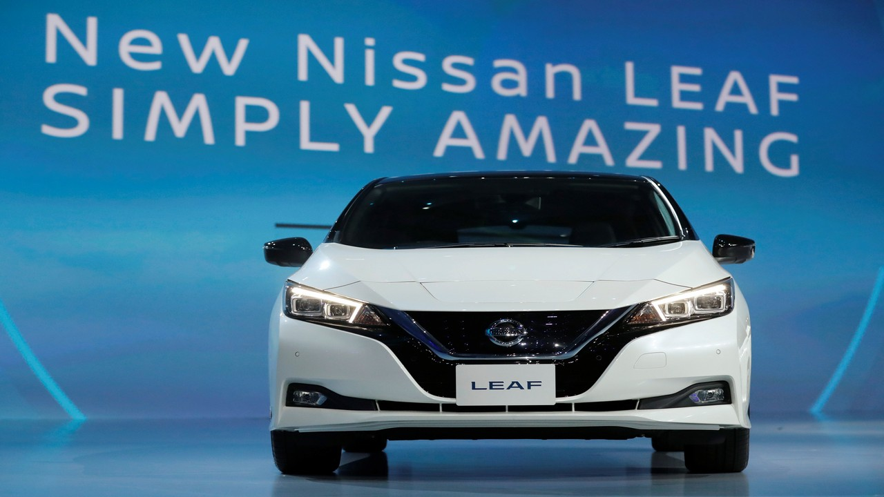 In Pics Nissan S All Electric Car Leaf Due For Launch In India