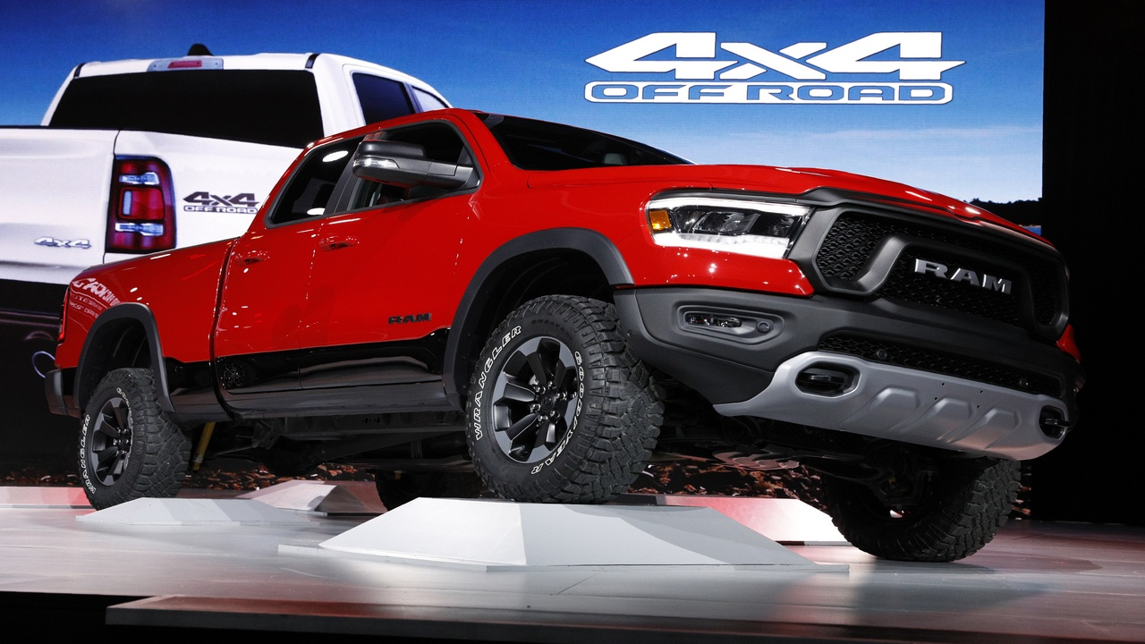 Dodge Ram 1500 Rebel | Dodge Ram, the maker of heavy-duty pickup trucks and 4X4 SUVs, held no bars when it showcased its 1500 Rebel pickup truck. This off-roader is to hit the roads soon. (Image source: Reuters)