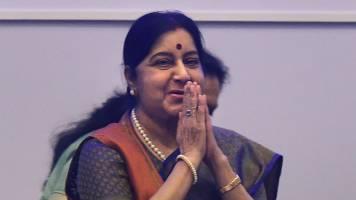 Ensure justice to two Hindu girls: Sushma Swaraj to Pakistan