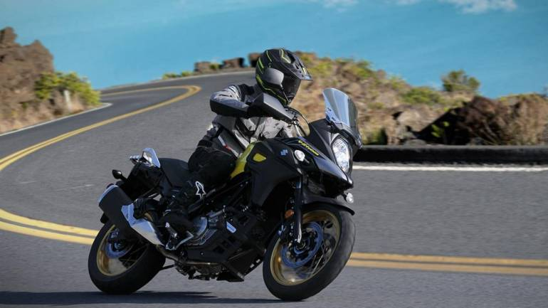 suzuki launches brand new edition of v strom 650xt at rs lakh. Black Bedroom Furniture Sets. Home Design Ideas