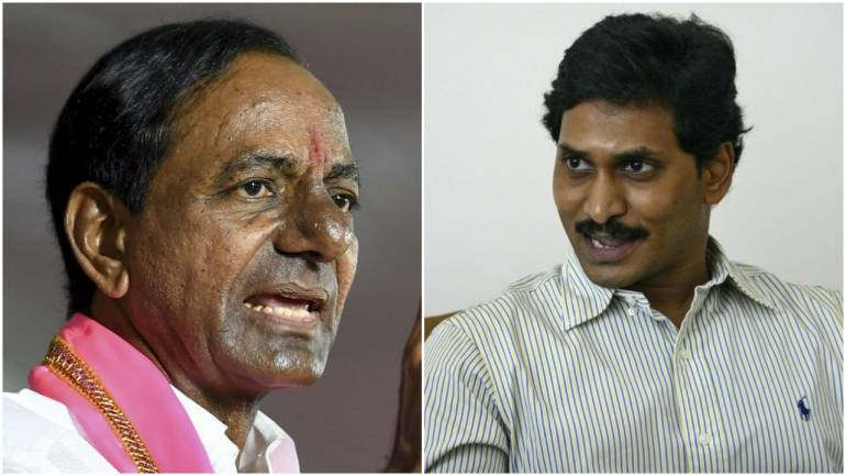 Jaganmohan Reddy invites Telangana CM KCR to attend swearing-in ceremony