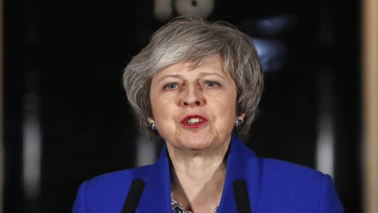Theresa May loses crunch vote in another massive Brexit defeat