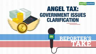 Angel tax: Government issues clarification