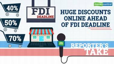 Reporter's Take | Massive online discounts ahead of FDI deadline?