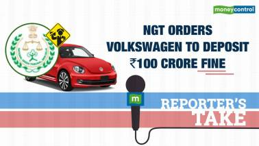 NGT orders Volkswagen to deposit Rs 100 cr