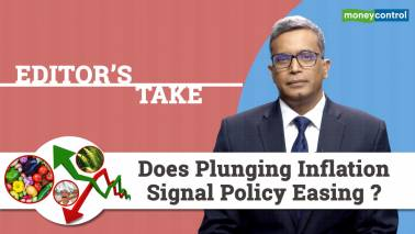 Does plunging inflation signal policy easing?