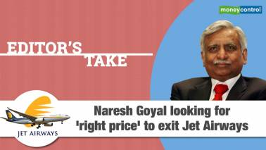 Naresh Goyal looking for right price to exit