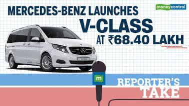 Mercedes-Benz launches V-Class at Rs 68.40 lk