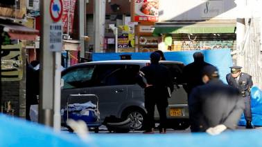 Car crashes into New Year's crowd in Tokyo in suspected terror attack, 8 injured