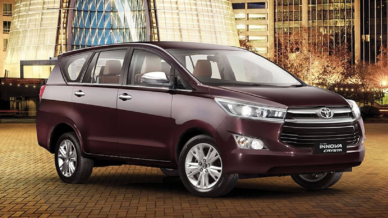 Toyota Innova Crysta | Toyota has proven time and again that they're the masters of the SUV class. Continuing with their legacy, Toyota launched their current gen Innova Crysta in 2017, with an all-new look and a crisper engine. (Image source: Toyota)