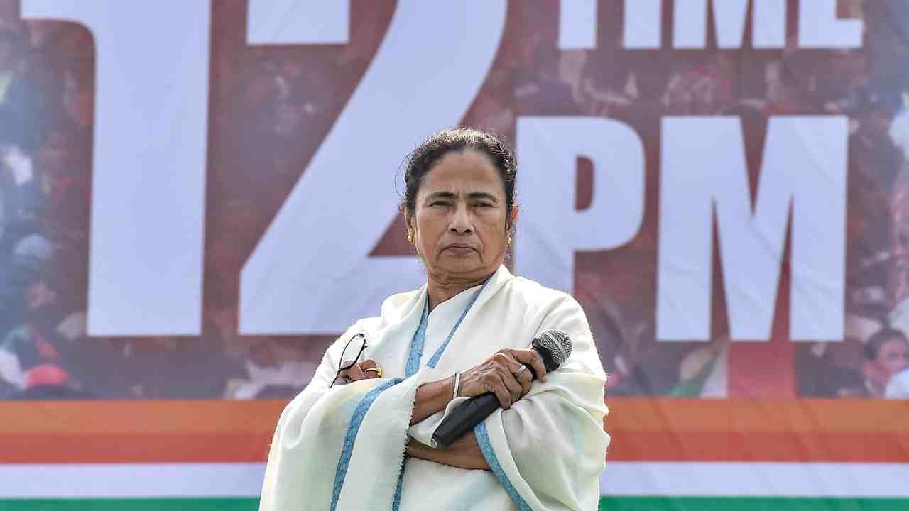 In Pics|Mamata Banerjee's United India Rally in Kolkata
